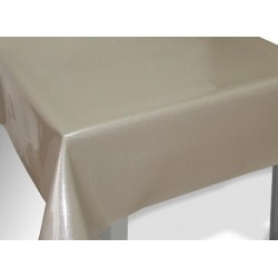 PROTEGE TABLE PAILLETTE taupe