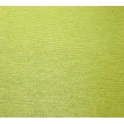 Tissus enduit vert pomme - larg. 180 cm