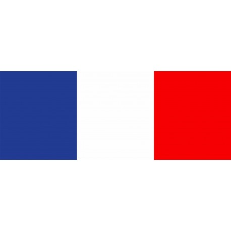 TOILE CIRÉE DRAPEAU FRANCE