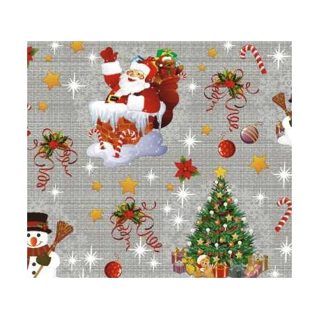 TOILE CIRÉE NEW YEAR argent