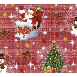TOILE CIRÉE NEW YEAR rouge