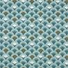 Tissu coton enduit 154 - MUJI celadon