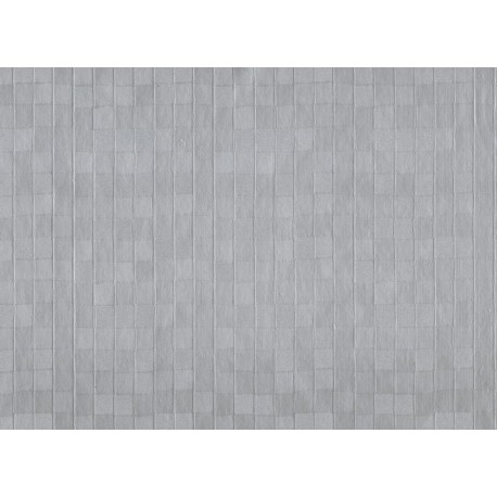 TOILE CIRÉE KASPA gris alu