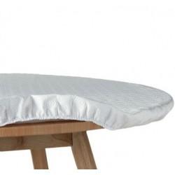 PROTÈGE TABLE ÉLASTIQUE ovale 140x180cm
