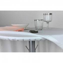 PROTÈGE TABLE ÉLASTIQUE rond 170